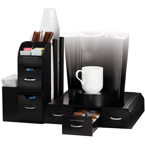 2-Piece Coffee Drawer and Organizer Unit