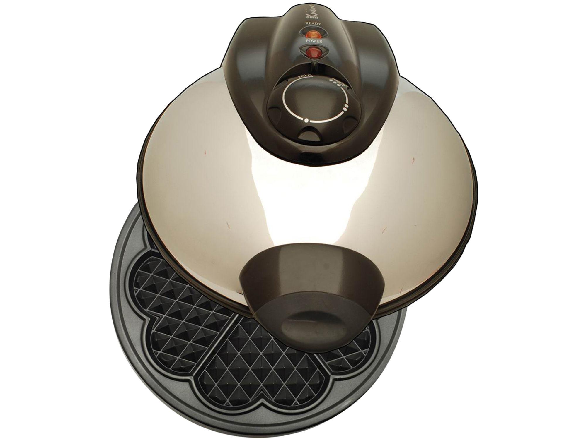Euro-Cuisine Heart Shaped Waffle Maker WM520