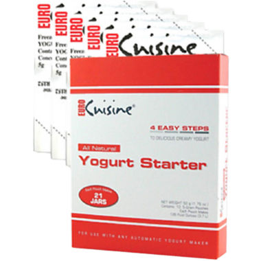 jcpenney.com | Euro-Cuisine® All-Natural Yogurt Starter RI1020