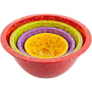 Zak Designs® 4-pc. Nesting Confetti Bowl Set