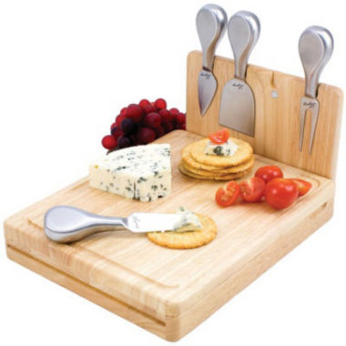 jcpenney.com | Picnic Time® Asiago Folding Cheeseboard with Tools