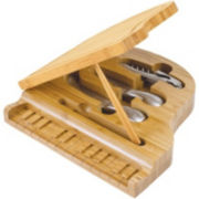 Picnic Time® Piano Cheeseboard with Tools