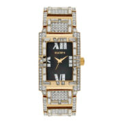 Elgin® Mens Two-Tone Crystal Accent Bracelet Watch