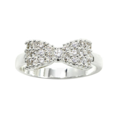 jcpenney.com | city x city® Mini-Bow Cubic Zirconia Ring