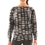 Xersion™ Long-Sleeve Burnout Top