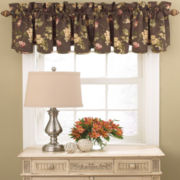 Waverly® Napoli Rod-Pocket Scalloped Valance