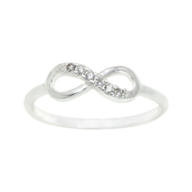 jcpenney.com | city x city® Clear Infinity Ring