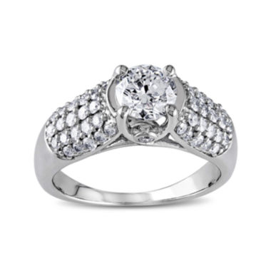 jcpenney.com | 1¼ CT. T.W. Diamond 14K White Gold Bridal Ring