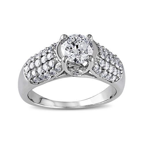 1¼ CT. T.W. Diamond 14K White Gold Bridal Ring
