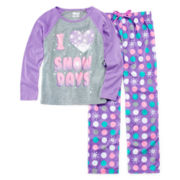 Sleep On It 2-pc. Snow Pajama Set - Girls 7-16