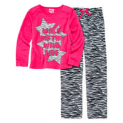 Sleep On It 2-pc. Zebra Pajama Set - Girls 7-16