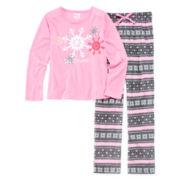 Sleep On It 2-pc. Snow Pajama Set - Girls 7-16