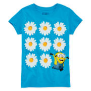 Despicable Me Short-Sleeve Minion Daisy Tee - Girls 7-16