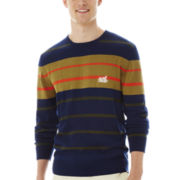Ecko Unltd.® Striped Crewneck Sweater