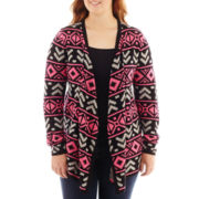 Arizona Long-Sleeve Aztec Cardigan - Plus