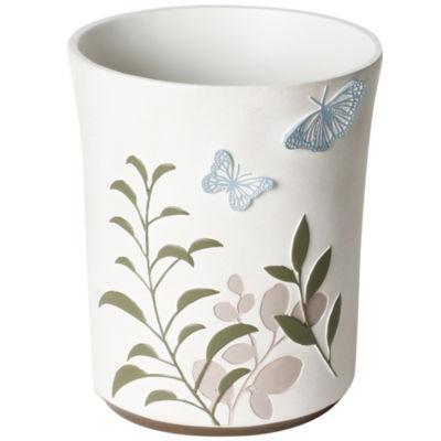Fluttering Wastebasket