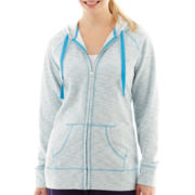 Made For Life™ Streaky Fleece Hoodie - Petite