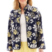 Alfred Dunner® Fresh Take Floral Jacket