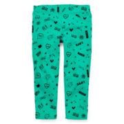 Total Girl® Print Capri Pants - Girls 7-16 and Plus