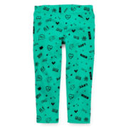 Total Girl® Print Capri Pants - Girls 7-16 and Plus