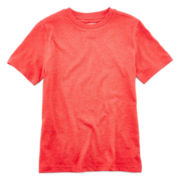 Arizona Short-Sleeve Solid Crewneck Tee - Boys 8-20 and Husky