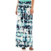a.n.a Fold-Over Maxi Skirt - Petite