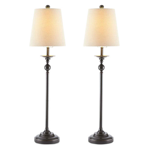 JCPenney Home™ Set of 2 Oil-Rubbed Bronze Buffet Lamps