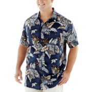 The Foundry Supply Co.™ Short-Sleeve Rayon Shirt–Big & Tall