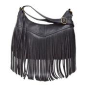 Arizona Sheena Fringe Hobo Bag
