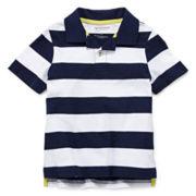 Arizona Short-Sleeve Striped Polo Shirt - Boys 4-7