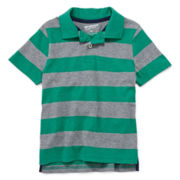 Arizona Short-Sleeve Striped Polo Shirt – Boys 4-7