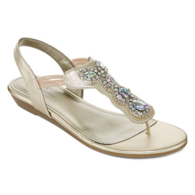 jcpenney.com | Worthington Odette Womens Flat Sandals