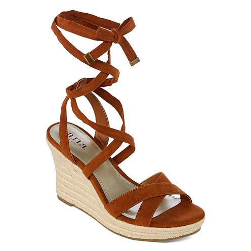 a.n.a Maui Womens Wedge Sandals