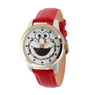jcpenney.com | Sesame Street Unisex Red Strap Watch-Wss000022