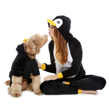 jcpenney.com | Penguin One Piece Pajama and Dog Costume