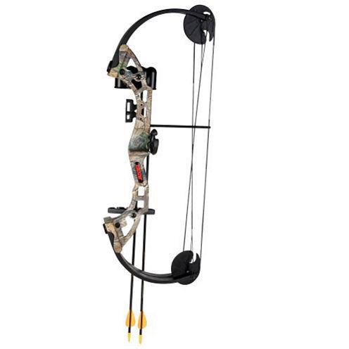 Bear Archery Warrior Camo Bow Set AYS400CR