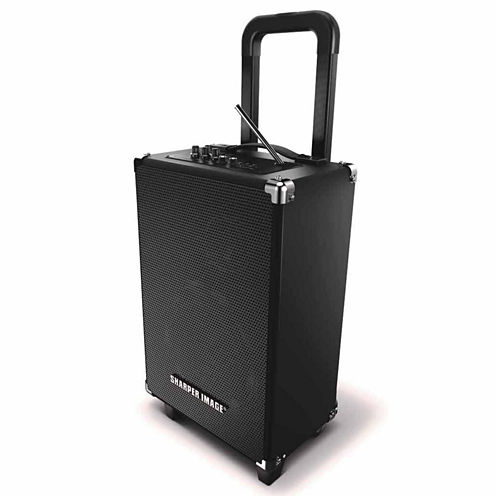 Sharper Image Bluetooth Tailgate Speaker with Microphone