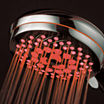 HotelSpa® Neon™ Ultra-Luxury 7-Setting LED Showerhead