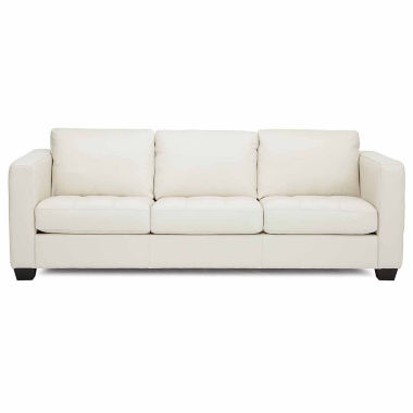 jcpenney.com | Bryce Metro Leather Sofa