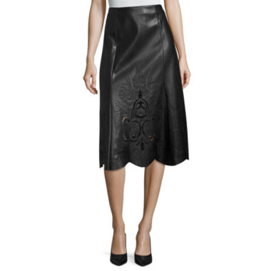 jcpenney.com | Worthington Faux Leather Skirt