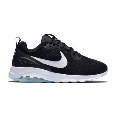 Presidente inicial polilla  Nike Air Max Motion Womens Running Shoes, Color: Black White - JCPenney
