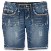 Arizona 5-Pocket Denim Bermuda Shorts - Girls