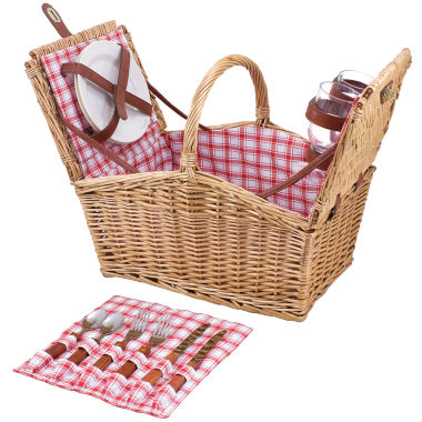 jcpenney.com | Picnic Time® Piccadilly Picnic Basket for Two