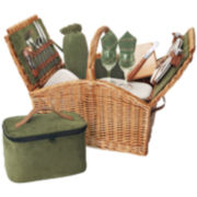 Picnic Time® Somerset Picnic Basket for Two