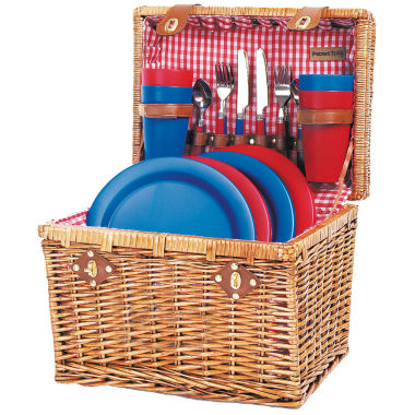 jcpenney.com | Picnic Time® Oxford Picnic Basket for Four