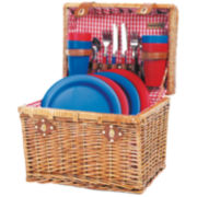 Picnic Time® Oxford Picnic Basket for Four