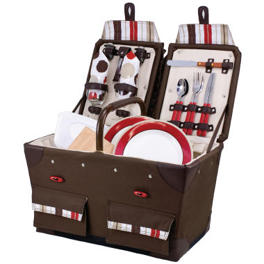 jcpenney.com | Picnic Time® Pioneer Deluxe Canvas Picnic Basket For Two