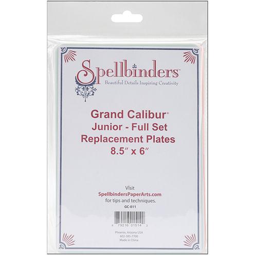 """Spellbinders™ Grand Calibur™ 8 1/2 x 6"""" Junior Replacement Plate Set"""