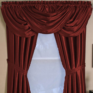 jcpenney.com | Versailles Rod-Pocket Waterfall Valance
