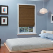 JCPenney Home™ Natural Woven Bamboo Cordless Roman Shade